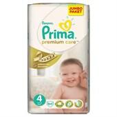 Prima Bebek Bezi Premium Care Mega Paket Maxi Jumbo No: 4 (7-14 Kg) 64'lü