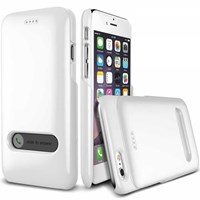 Verus İphone6 (4.7'') Slim Hard Slide Pearl White+Pearl White