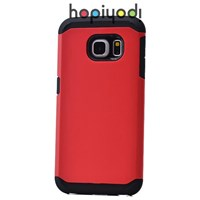 Samsung Galaxy S6 Edge Kılıf Sport Spigen Kapak Kırmızı