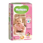 Huggies Maxi Kız 46'lı Bebek Bezi 4 Beden