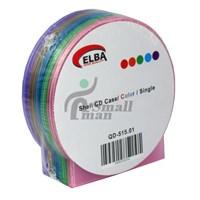 ELBA QD-515.01 1Lİ Renkli 80pc Shell CD Case