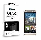 Eiroo HTC One M9 Tempered Glass Cam Ekran Koruyucu