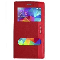 Magnum Galaxy S5 Mini Magnum Pencereli Kılıf Kırmızı MGSBGJKPSV6