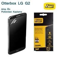 LG G2 Otterbox 360° Ön Arka Ekran Koruyucu Film
