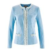 Bpc Selection Premium Premium Keten İçerikli Blazer Ceket - Mavi 32033262