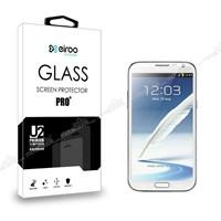 Eiroo Samsung N7100 Galaxy Note 2 Tempered Glass Cam Ekran Koruyucu