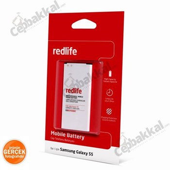 Redlife Samsung Galaxy S5 Batarya 2500 Mah