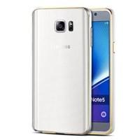 Microsonic Samsung Galaxy Note 5 Kılıf Ultra Thin Metal Bumper Gümüş