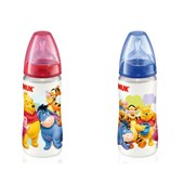NUK First Choice Disney Silikon Emzikli PP Biberon Orta Delik 0-6 Ay 150 ml