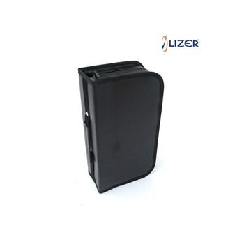 Lizer LC96 96 lık Siyah Deri CD Çantası 36368