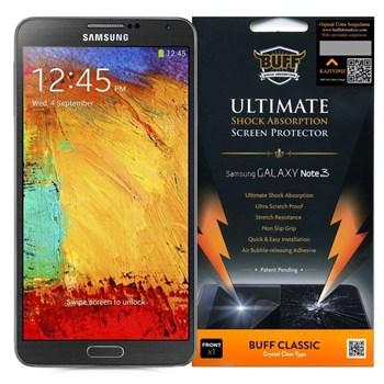 BUFF Galaxy Note 3 Darbe Emici Ekran Koruyucu Film
