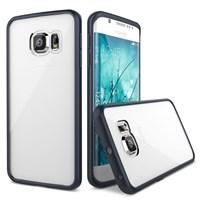 Verus Samsung Galaxy S6 Edge Crystal Mixx Series Kılıf - Renk : Black