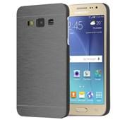 Microsonic Samsung Galaxy J2 Kılıf Hybrid Metal Siyah