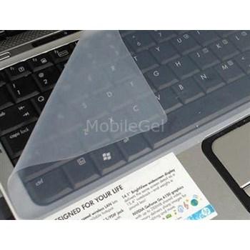 Microsonic klavye koruyucu şeffaf silikon kılıf 17 INCH