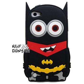 İphone 5s Kılıf Silikon Süper Kahramanlar 3d Batman