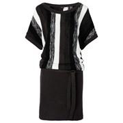 BODYFLIRT Örgü elbise - Siyah 96797695 6111255173471