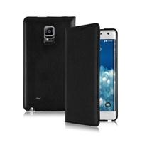 Microsonic Delux Kapaklı Samsung Galaxy Note Edge Kılıf Siyah