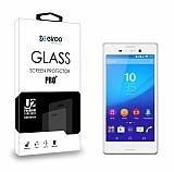 Eiroo Sony Xperia C4 Tempered Glass Cam Ekran Koruyucu