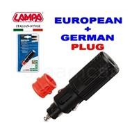 Lampa Duplex 2İn1 Standart/Alman Dın Tipi Çakmak Fişi 39053