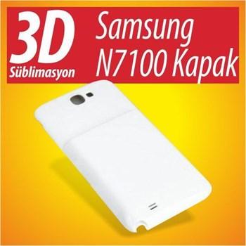 3D Süblimasyon Samsung N7100/Note 2 Kapak