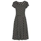 BODYFLIRT Penye elbise - Siyah 20006763