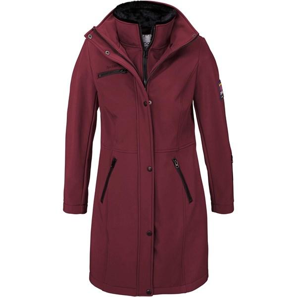 Bpc Bonprix Collection Uzun Softshell Ceket - Kırmızı 29925414