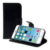 Microsonic Cüzdanlı Standlı Deri Iphone 6s Siyah