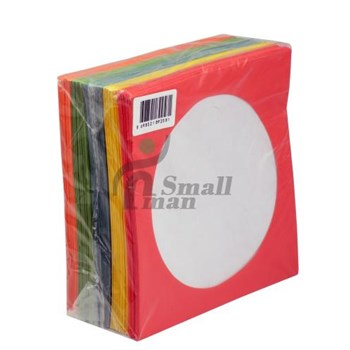 CD ZARFI 80gr Pencereli Renkli Kağıt 100lük