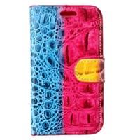 crocodile Galaxy S5 Standlı Mavi Kılıf MGSDEKNRU49