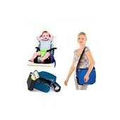 KidsKit Seat & Store Mama Sandalyesi Mavi Renk