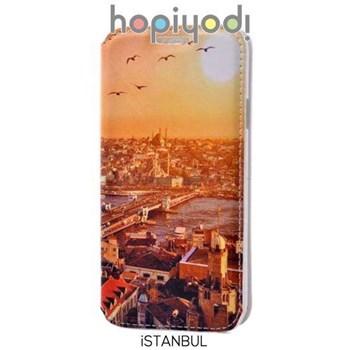 Samsung Galaxy E5 Kılıf Pupa Desenli Gizli Mıknatıslı İstanbul