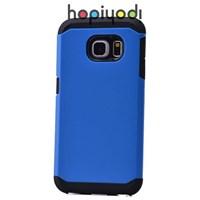 Samsung Galaxy S6 Edge Kılıf Sport Spigen Kapak Mavi