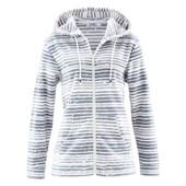 Bpc Bonprix Collection Uzun Kollu, Kapüşonlu Ceket - Beyaz 32033158