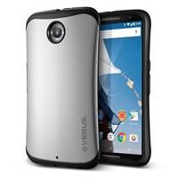 Verus Nexus 6 Case Thor Series Kılıf HARD DROP - Renk : Light Silver