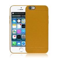 Microsonic Dot Style Silikon Iphone 6 Plus 5.5'' Kılıf Sarı