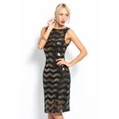İroni Kolsuz Siyah Gold Payet Elbise 31926282