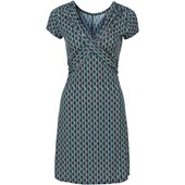 Bodyflirt Tamamı Baskılı Elbise - Petrol 32960436