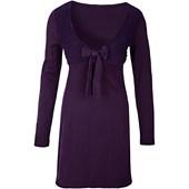 Bodyflirt Örgü Elbise - Lila 32232603