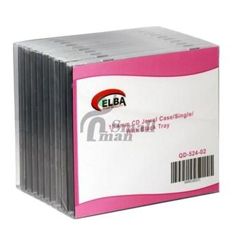 ELBA QD-524.02 1Lİ SİYAH 10.4mm CD Jewel Case