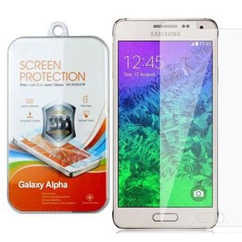 Galaxy Alpha Kırılmaz Cam Ekran Koruyucu