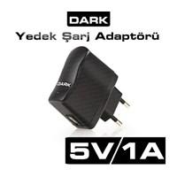 Dark 5V/1A Marka Bağımsız Tasarımlı Üniversal USB Hızlı Şarj Adaptörü (DK-AC-TBADU5V1A)