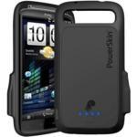 PowerSkin AP1511SEN HTC Sensation Için Dahili Bataryalı Silikon Kılıf