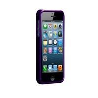 Casemate Glimmer Sert iPhone 5 Kılıfı + Ekran Koruyucu Film (Mor)