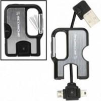 Scosche Clipsync Mini & Micro USB Şarj Cihazı (Siyah) Ve Senkronizasyon K