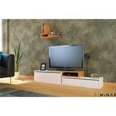Minar Cissus Tv Ünitesi - P.Beyaz - Bambu 32067107