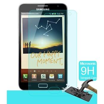 Microsonic Temperli Cam Ekran Koruyucu Samsung Galaxy Note N7000 Kırılmaz Film