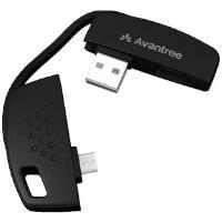 Anahtarlıklı Micro USB Şarj ve Data Kablosu Siyah