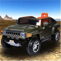 Baby&Toys Hummer HX Jip Askeri Yeşil
