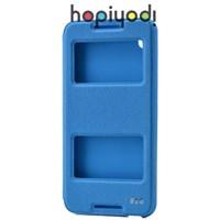 HTC Desire 816 Kılıf Ekol Gizli Mıknatıslı Standlı Mavi