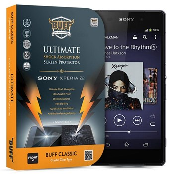 BUFF Sony Xperia Z2 Darbe Emici Ekran Koruyucu Film